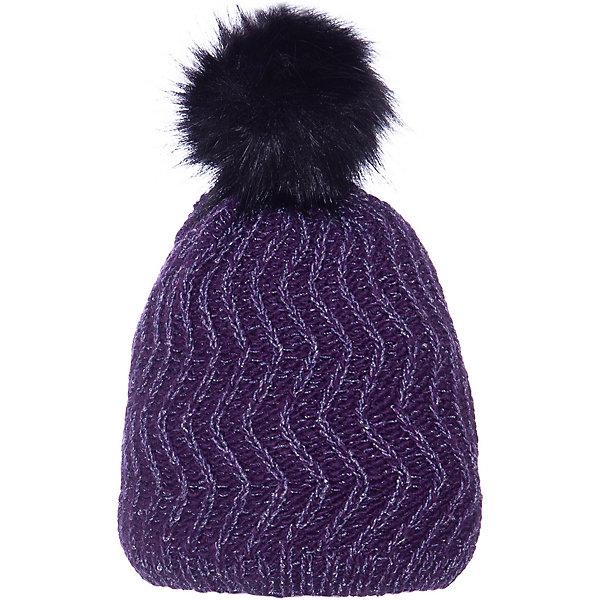 Шапка Maximo для девочкиГоловные уборы<br>Характеристики товара:<br><br>• состав ткани: 51% шерсть, 47% акрил, 2% эластан<br>• подкладка: 100% полиэстер<br>• утеплитель: нет<br>• сезон: зима<br>• страна бренда: Германия<br> <br>Материал шапки - смесовой (хлопок и шерсть с синтетикой) - он позволяет коже дышать, легко стирается и долго служит. Использованные при производстве модели материалы безопасны для детей. Изделие отличается облегающим силуэтом, что служит дополнительной защитой от ветра и холода. Декор детской шапки - оригинальный вязаный орнамент и помпон.