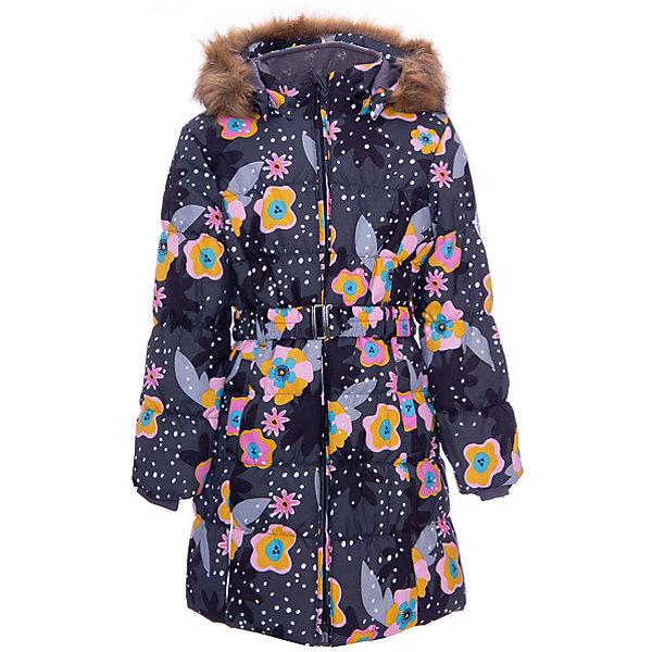 Купить Пальто YACARANDA HUPPA для девочки, Эстония, серый, 110, 158/164, 170/176, 164/170, 122, 116, 140, 146, 128, 134, 152, 176, Женский