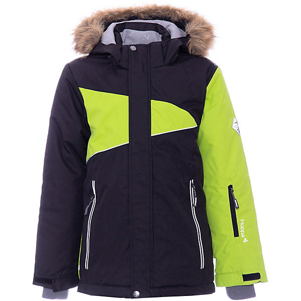 Купить Куртка NORTONY HUPPA для мальчика, Эстония, черный, 152, 158/164, 128, 164/170, 170/176, 122, 146, 140, 176, 134, Мужской