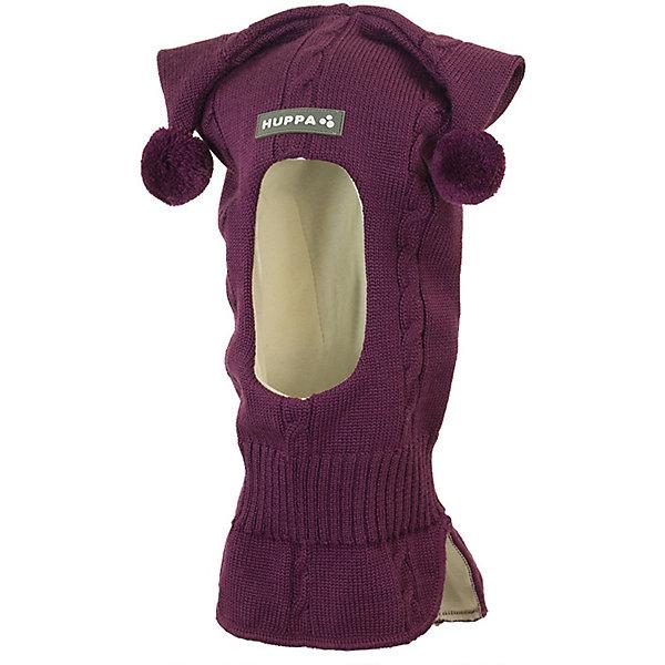 Huppa Шапка-шлем COCO 4 HUPPA для девочки ostin шапка с помпонами для девочек