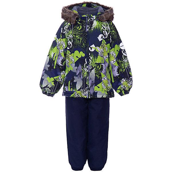 Купить Комплект Huppa Avery: куртка и полукомбинезон, Эстония, светло-зеленый, 80, 104, 110, 86, 98, 92, Унисекс