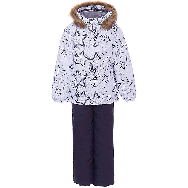 Купить Комплект Huppa Winter: куртка и полукомбинезон, Эстония, белый, 92, 122, 140, 104, 128, 116, 98, 110, 134, Унисекс
