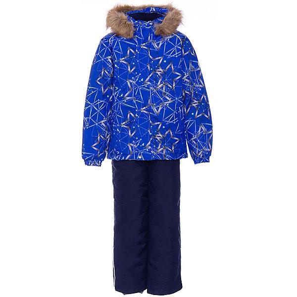 Купить Комплект Huppa Winter: куртка и полукомбинезон, Эстония, синий, 122, 116, 92, 134, 128, 140, 104, 110, 98, Унисекс