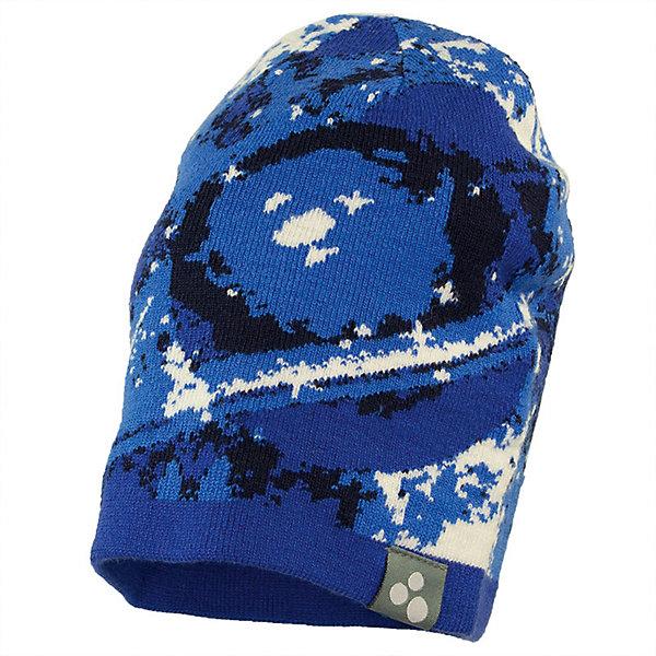 Шапка GALAXY HUPPA для мальчика, Эстония, синий, 51-53, 55-57, 47-49, 57, Мужской  - купить со скидкой
