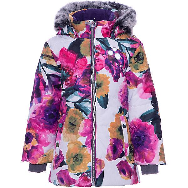 Купить Куртка NOVALLY HUPPA для девочки, Эстония, белый, 80, 86, 92, 104, 98, 110, Женский