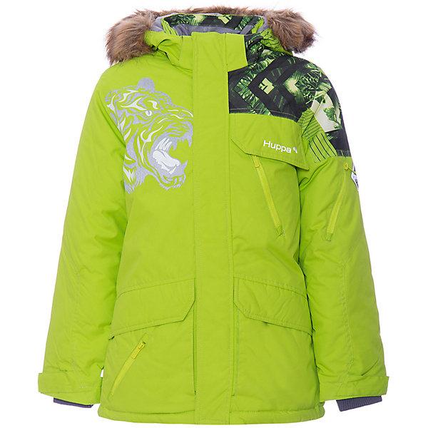 Купить Куртка MARTEN HUPPA для мальчика, Эстония, светло-зеленый, 134, 164/170, 146, 128, 158/164, 152, 170/176, 122, 140, 176, Мужской