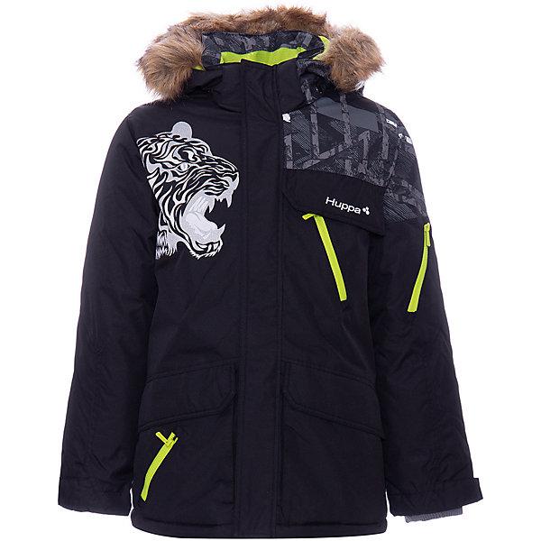 Купить Куртка MARTEN HUPPA для мальчика, Эстония, черный, 152, 128, 134, 170/176, 158/164, 146, 140, 164/170, 176, 122, Мужской