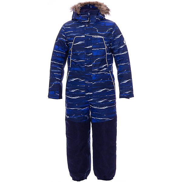 Купить Комбинезон BRUCE HUPPA для мальчика, Эстония, темно-синий, 146, 152, Мужской