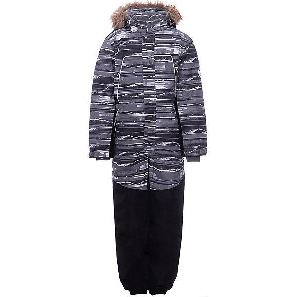 Комбинезон BRUCE HUPPA для мальчика, Эстония, серый, 152, 146, Мужской  - купить со скидкой