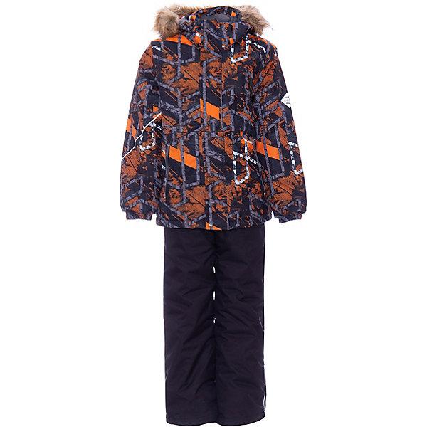 Купить Комплект DANTE HUPPA для мальчика, Эстония, оранжевый, 140, 152, 122, 128, 146, 134, Мужской