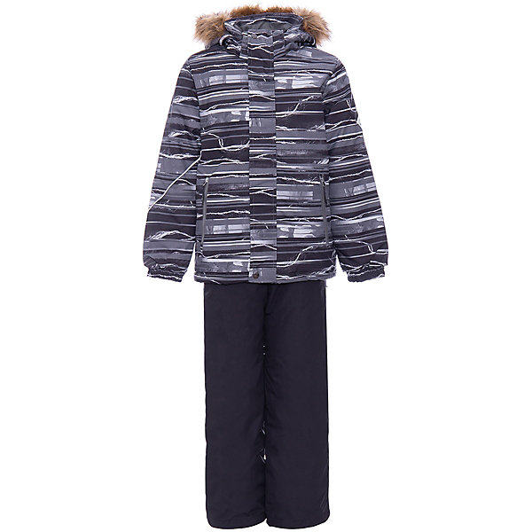 Купить Комплект DANTE HUPPA для мальчика, Эстония, серый, 128, 152, 140, 146, 134, 122, Мужской