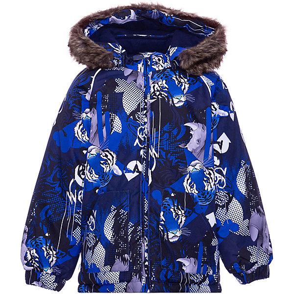 Купить Куртка VIRGO HUPPA для мальчика, Эстония, темно-синий, 92, 80, 104, 86, 98, Мужской