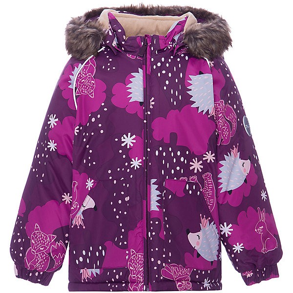 Купить Куртка VIRGO HUPPA для девочки, Эстония, бордовый, 92, 104, 80, 98, 86, Женский