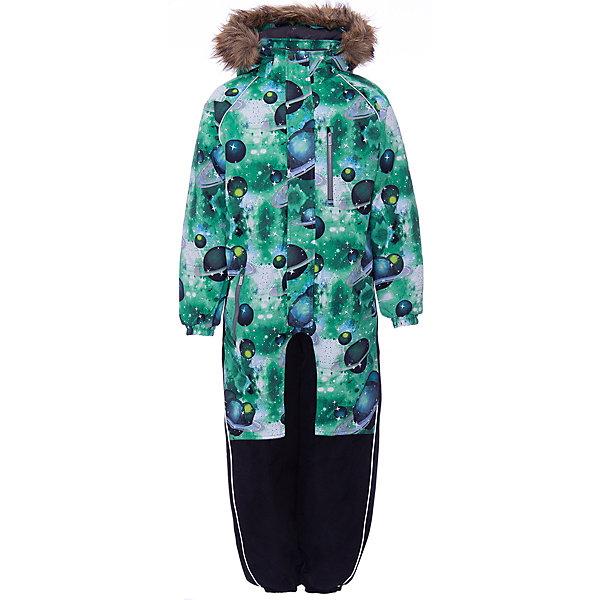 Купить Комбинезон FENNO HUPPA для мальчика, Эстония, зеленый, 110, 140, 98, 134, 122, 116, 104, 128, Мужской