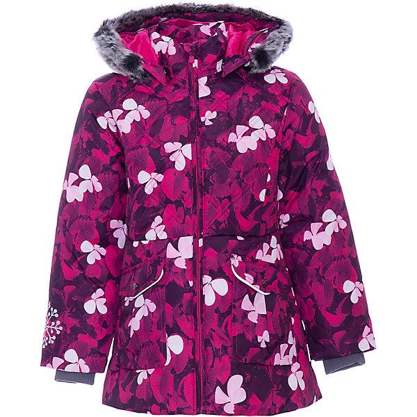 Купить Куртка MISSY HUPPA для девочки, Эстония, фуксия, 110, 104, 122, 128, 98, 140, 134, 116, Женский