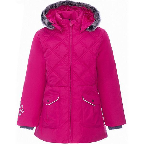 Купить Куртка MISSY HUPPA для девочки, Эстония, фуксия, 134, 110, 122, 116, 128, 98, 104, 140, Женский