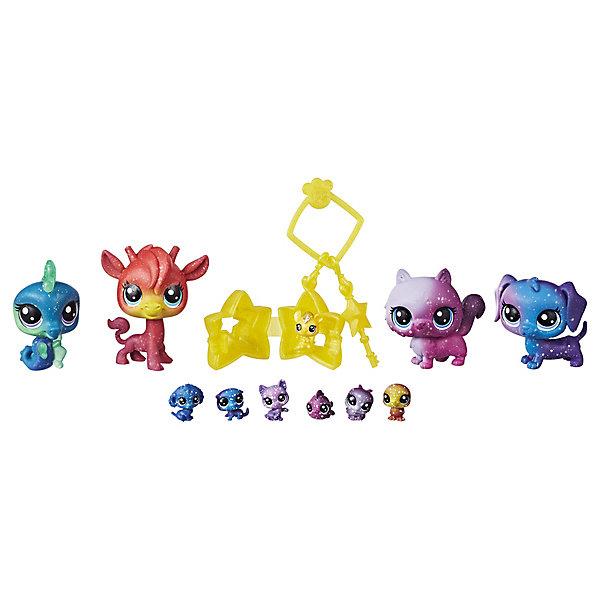 Купить Набор фигурок Little Pet Shop Космические петы , 11 шт., Hasbro, Китай, Женский
