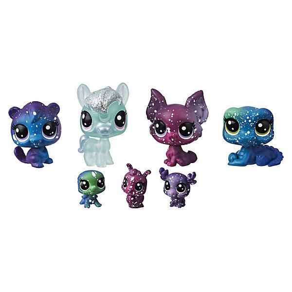 Hasbro Набор фигурок Little Pet Shop Космические петы Друзья Луны, 7 шт