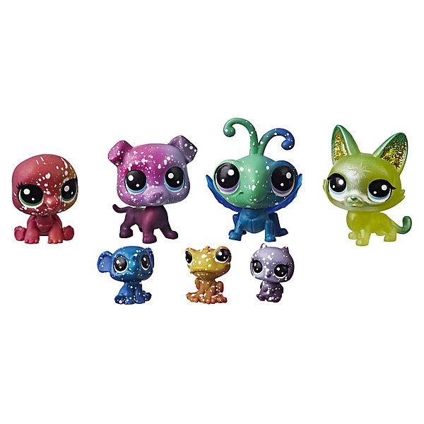 Hasbro Набор фигурок Little Pet Shop Космические петы Друзья Марса, 7 шт