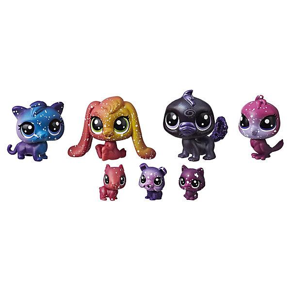Hasbro Набор фигурок Little Pet Shop Космические петы Друзья Чёрной дыры, 7 шт