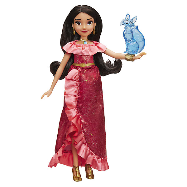 Hasbro Кукла Disney Princess Елена - принцесса Авалора Елена и Зузо, 29 см hasbro мини кукла hasbro disney princess елена принцесса авалора елена