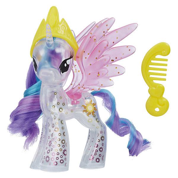 Hasbro Игровая фигурка My little Pony Пони с блёстками Принцесса Селестия hasbro my little pony movie пони с блестками e0185 принцесса селестия