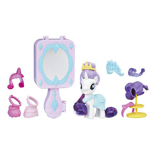 Hasbro Игровой набор My little Pony Возьми с собой Рарити игровой набор hasbro mlp пони модницы с артикуляцией в ассортименте my little pony