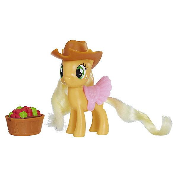 Hasbro Игровая фигурка My little Pony Волшебный сюрприз Эплджек аксессуар чехол для motorola moto e4 plus df mcase 08