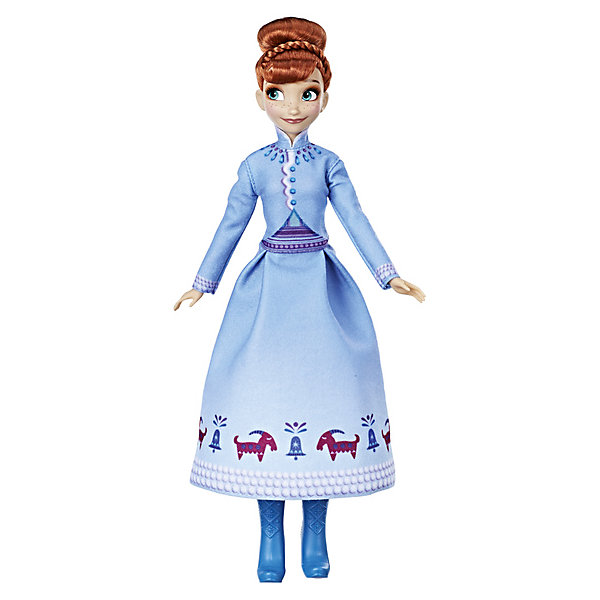 Купить Кукла Disney Princess Холодное сердце Рождество с Олафом Анна, Hasbro, Китай, Женский