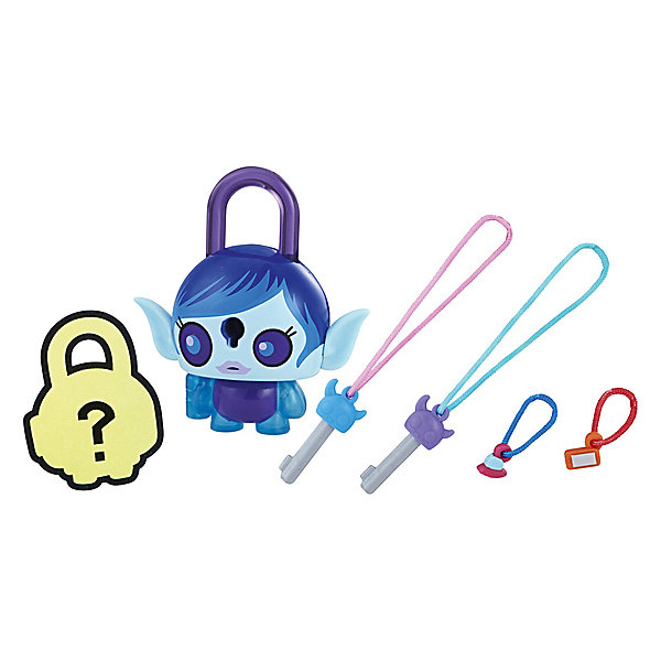 Hasbro Замочки с секретом Lock Stars, Синяя инопланетянка