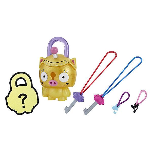 Купить Замочки с секретом Lock Stars, Золотой поросёнок, Hasbro, Китай, Женский