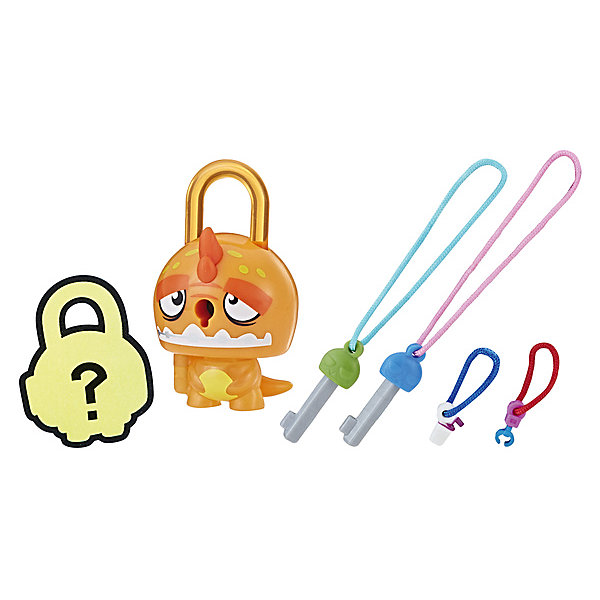 Hasbro Замочки с секретом Lock Stars, Оранжевый динозавр
