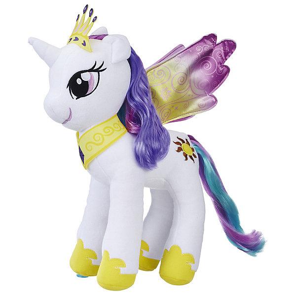 Hasbro Мягкая игрушка My little Pony Большие пони Принцесса Селестия, 30 см мульти пульти my little pony пони милашка 17 см озвученная v62310 17