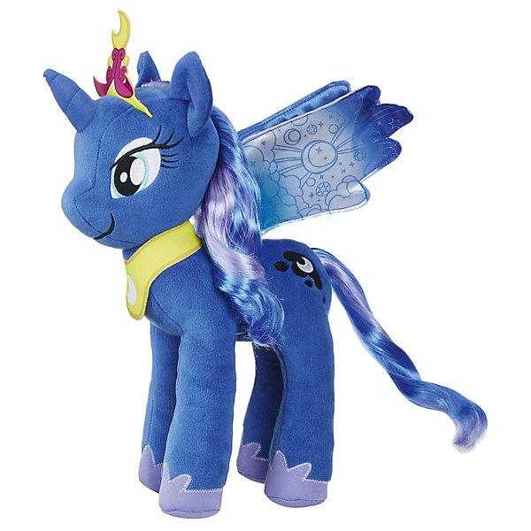 Hasbro Мягкая игрушка My little Pony Большие пони Принцесса Луна, 30 см мульти пульти my little pony пони милашка 17 см озвученная v62310 17