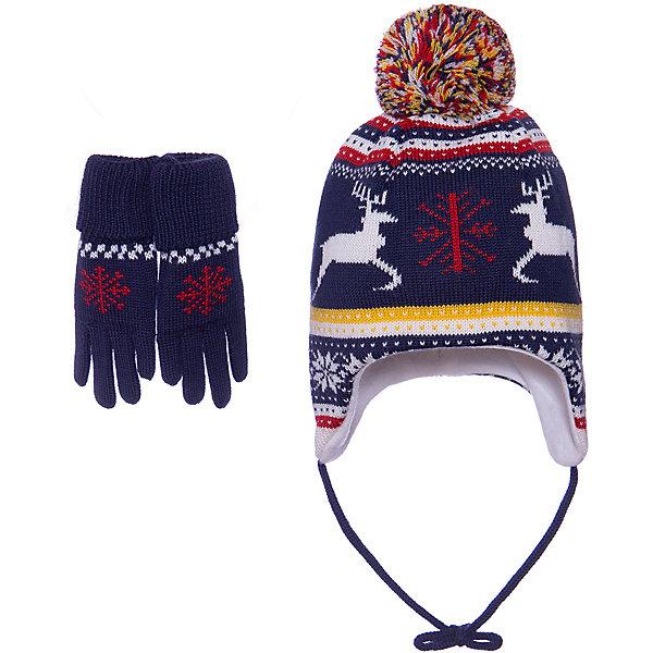 Janus Комплект: Шапка и перчатки Janus для мальчика