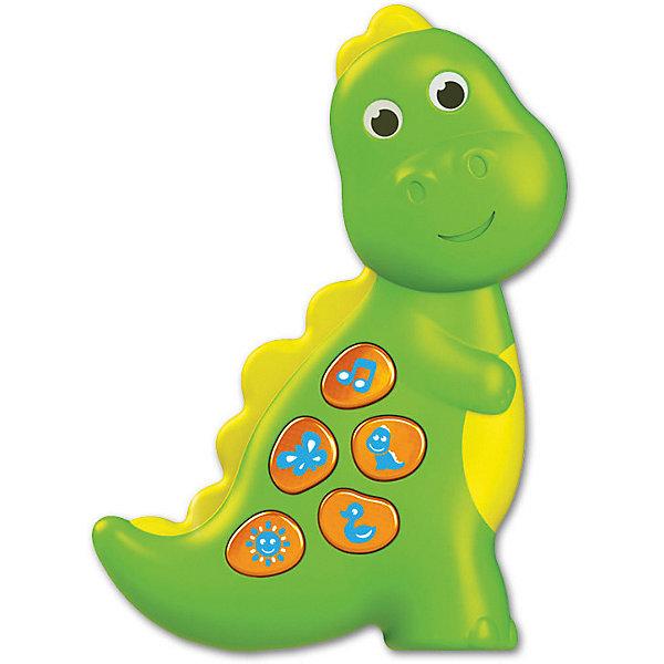 Азбукварик Музыкальная игрушка Азбукварик Динозаврик игрушка азбукварик 81544 часики мой динозаврик