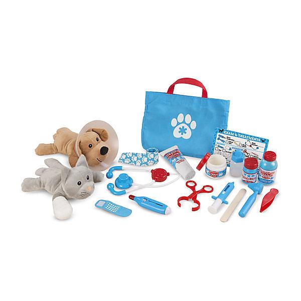 Купить Игровой набор Melissa&Doug «Ветеринар», Melissa & Doug, США, разноцветный, Унисекс