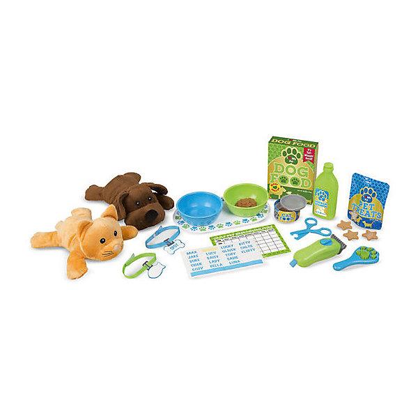 Купить Игровой набор Melissa&Doug «Уход за питомцем», Melissa & Doug, США, разноцветный, Унисекс