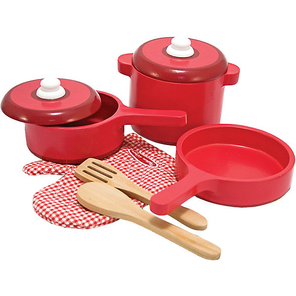 Купить Набор посуды Melissa&Doug, Melissa & Doug, США, разноцветный, Унисекс