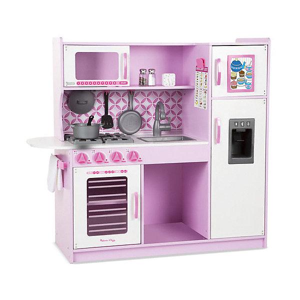 Купить Деревянная кухня Melissa&Doug, розовая, Melissa & Doug, США, розовый/белый, Женский