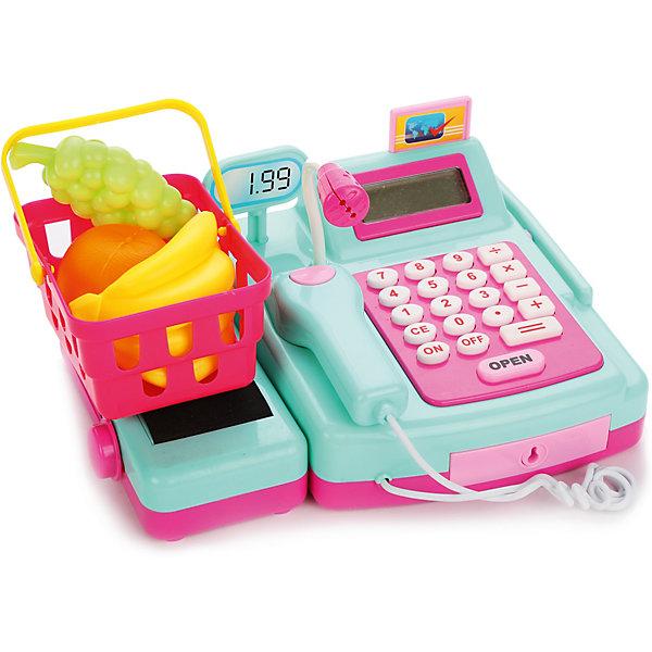 Касса Mary Poppins Играем в магазинДетский супермаркет<br>Характеристики товара:<br><br>• возраст: от 3 лет;<br>• материал: пластик;<br>• в комплекте: кассовый аппарат, корзинка, игрушечные деньги, продукты;<br>• тип батареек: 2 батарейки АА;<br>• наличие батареек: в комплект не входят;<br>• размер игрушки: 22х16х10 см;<br>• размер упаковки: 28х18х18 см;<br>• вес упаковки: 744 гр.<br><br>Касса Mary Poppins «Играем в магазин» познакомит детей с устройством кассового аппарата в супермаркете и позволит придумать разнообразные сюжетно-ролевые игры. Кассовый аппарат оснащен настоящим калькулятором, открывающимся и закрывающимся на ключ ящиком для денег. Лента для продуктов двигается при помощи рычажка. Сканер пикает и подсвечивается при нажатии на кнопку. Если же провести банковской картой по магнитному считывателю, то выскочит табло. Игрушка изготовлена из качественных безопасных материалов.