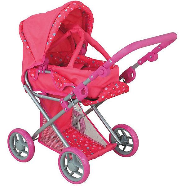 Buggy Boom Коляска для кукол Buggy Boom Infinia трасформер, розовая buggy boom коляска для кукол buggy boom infinia трасформер розовая