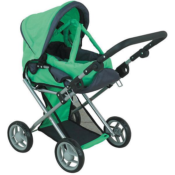 коляски для кукол Buggy Boom Коляска для кукол Buggy Boom Infinia трасформер, зеленая
