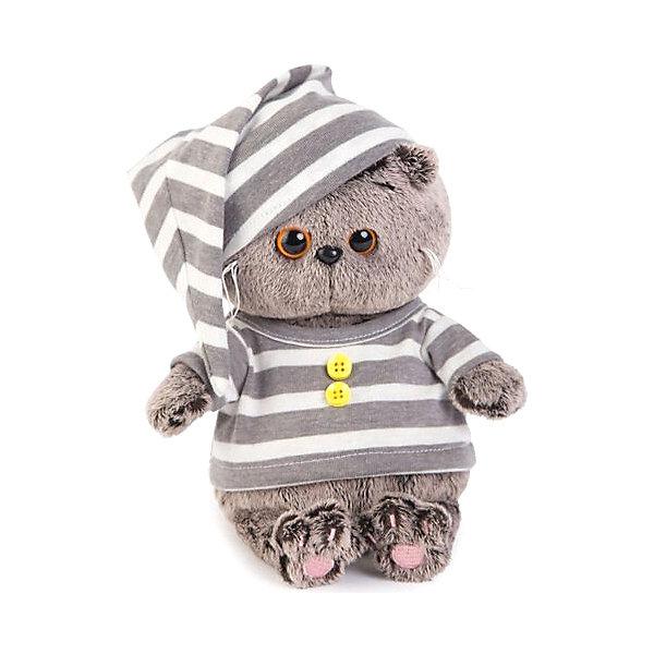 Budi Basa Мягкая игрушка Budi Basa Кот Басик Baby в пижамке, 20 см цена