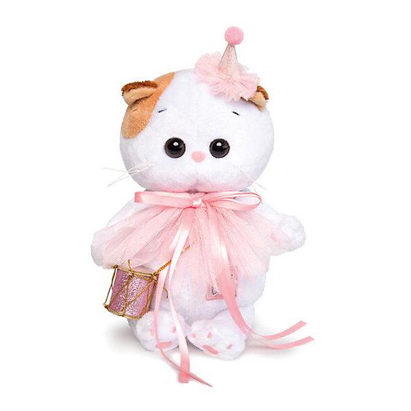 Budi Basa Мягкая игрушка Budi Basa Кошечка Ли-Ли Baby в колпачке с барабаном, 20 см