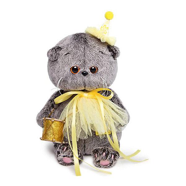 Budi Basa Мягкая игрушка Budi Basa Кот Басик Baby в колпачке с барабаном, 20 см цена