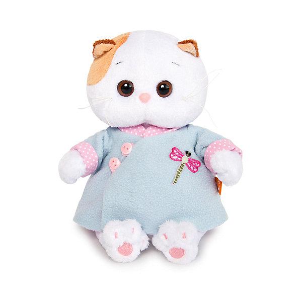 Budi Basa Мягкая игрушка Кошечка Ли-Ли Baby в голубой курточке китайском стиле, 20 см