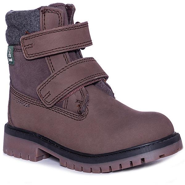 Ботинки TAKODAV kamik для мальчика, Коричневый