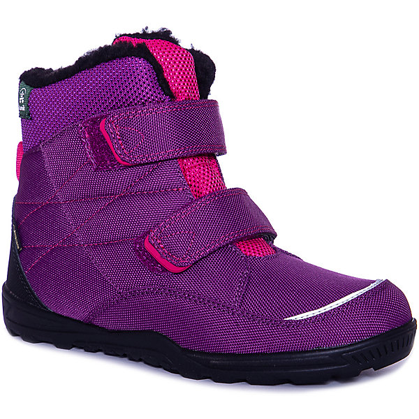 Купить Ботинки Kamik QUINN3GTX для девочки, Китай, фиолетово-розовый, 34, 28, 35, 33, 31, 29, 30, 32, 37, 38, 39, 36, Женский