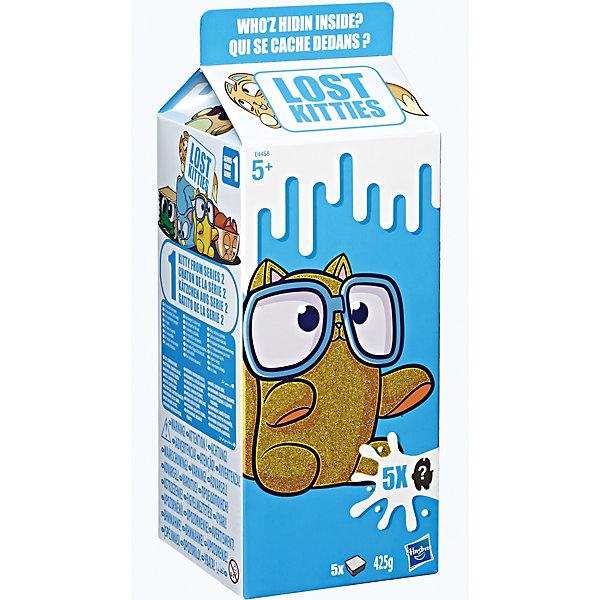 Купить Игровой набор Lost Kitties Котенок в молоке в большой коробке, Hasbro, Китай, Женский